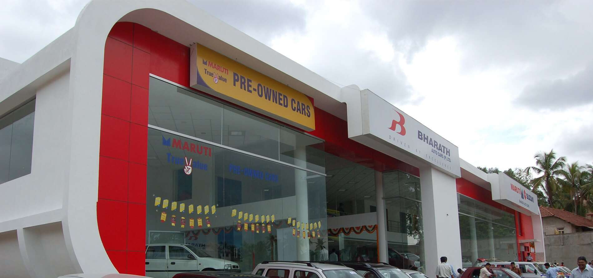 Bharath Auto Cars Showroom