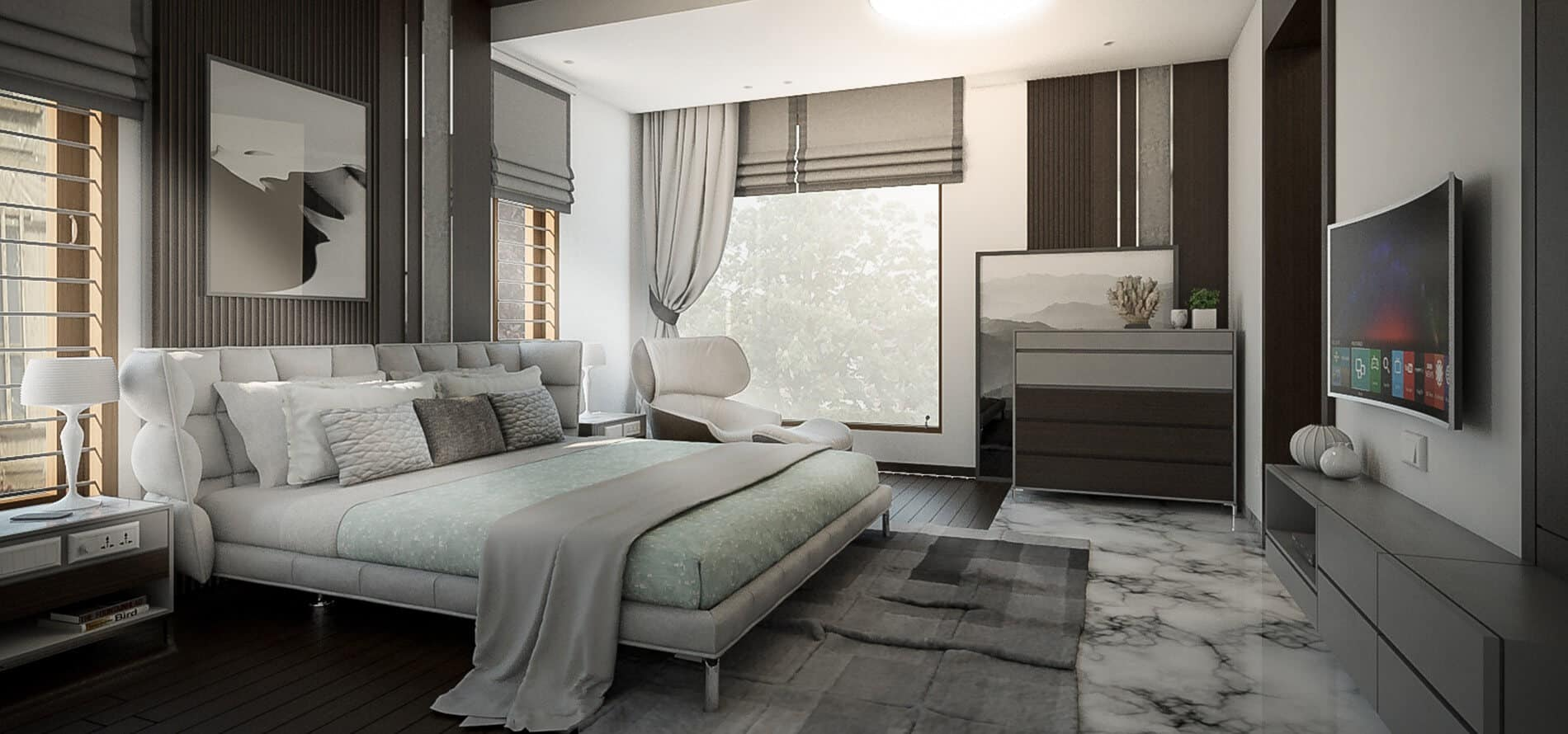 Hamza Residence Interiors